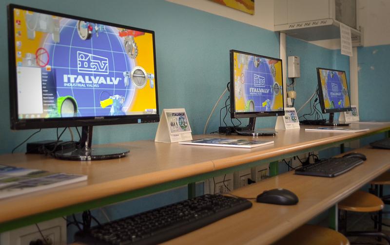 multimedia classroom Italvalv